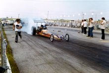 Nostalgia Rear Engine Dragster