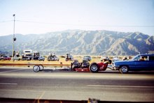 The Frieght Train Nostalgia Dragster