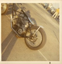 Injected Drag Bike