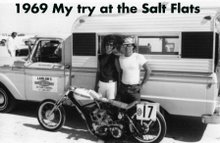 Joe & Pat Smith On The Salt Flats