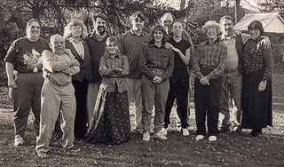 Family gathering, Thanksgiving 1998