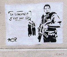 La liberté!? C´est par là!