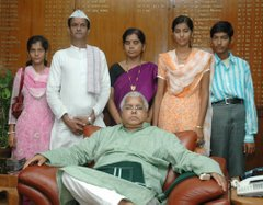 Noble gesture of Lalu Prasad