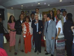 Visitantes y Amigos del Congreso de Historia Regional en Miranda