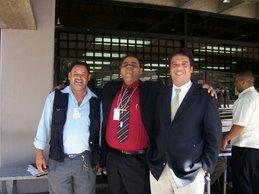 Compañeros en el II Congreso de Historia Regional Mirandina