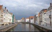 """Imagem do """"Brugesvitual""""; Cidade de Burges hoje."""