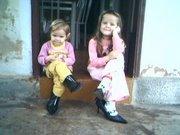 As netas de Sebastião e Naninha: Sofia e Morgana