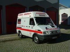A nossa Ambulância de Socorro