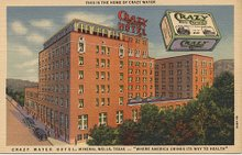 Postcard of the Crazy Water Hotel