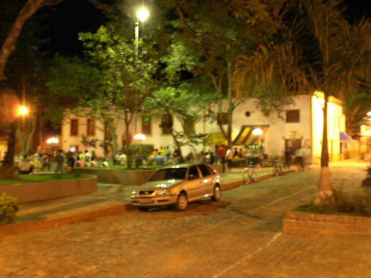 Praça da Matriz a Noite