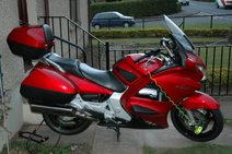 Gerbil's motorbike