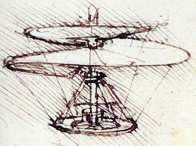 Leonardo Da Vinci's Helicopter