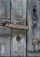 Old Coop Door
