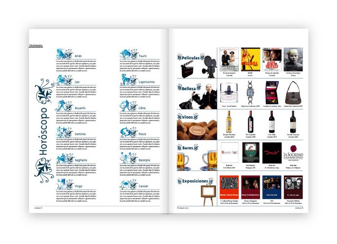 Proyecto III | Interior revista | Variedades