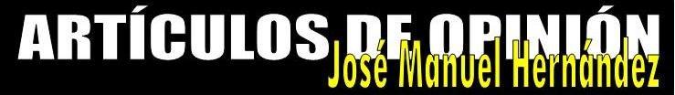 Artículos de José Manuel