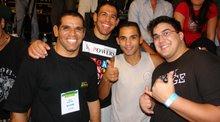 Gavião, Rogério Minotouro, Will Ribeiro e André Marques