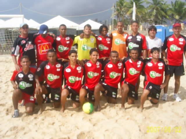 CIRCUITO NORDESTE DE BEACH SOCCER 2007- EQUIPES PARTICIPANTES