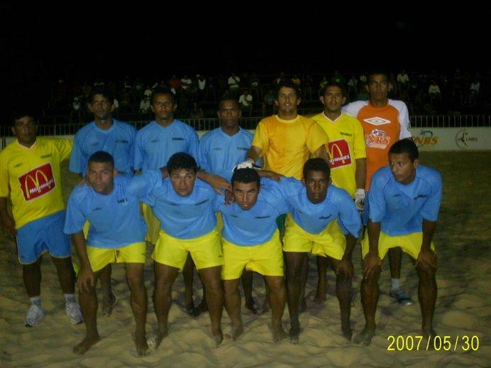 CIRCUITO NORDESTE DE BEACH SOCCER 2007-EQUIPES PARTICIPANTES