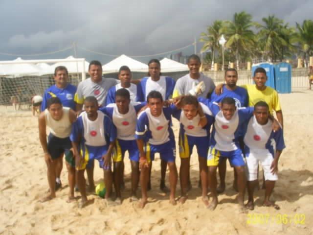 CIRCUITO NORDESTE DE BEACH SOCCER 2007 -EQUIPES PARTICIPANTES