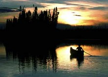 Slow Sleepy Sunset- Rupert River 2006