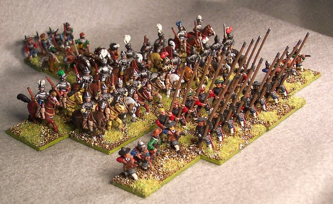 15mm Austrian Imperials circa 1580AD
