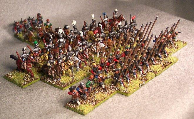 15mm Austrian Imperials circa 1580AD