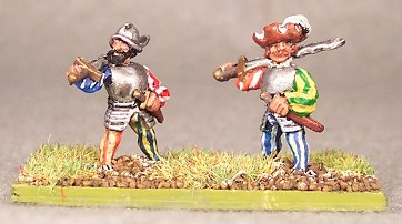 Landsknecht Forlorn Hope - 15mm