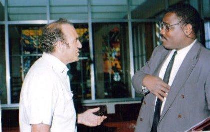 Fletcher in Addis Abbaba 1993