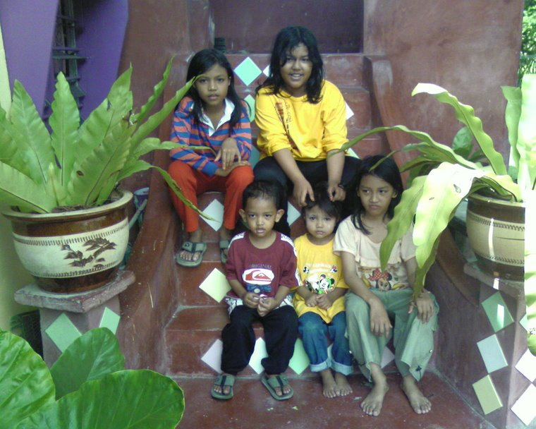 My beloved kids....hehehhehe