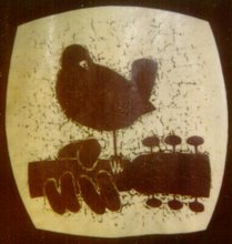 Official insignia of the Woodstock Festival