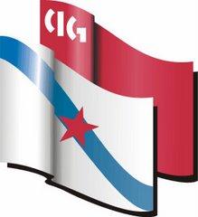 Bandeiras CIG e Galiza