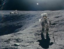 ...caminaba por la luna
