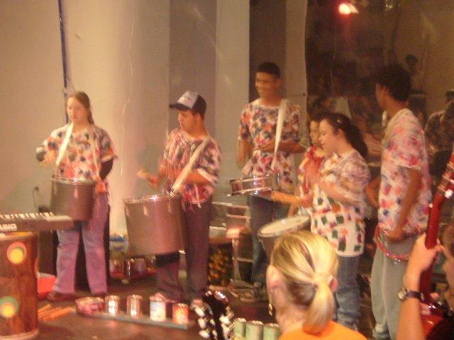 Apresentação no Teatro de Arena no Escola Faz Arte 2006