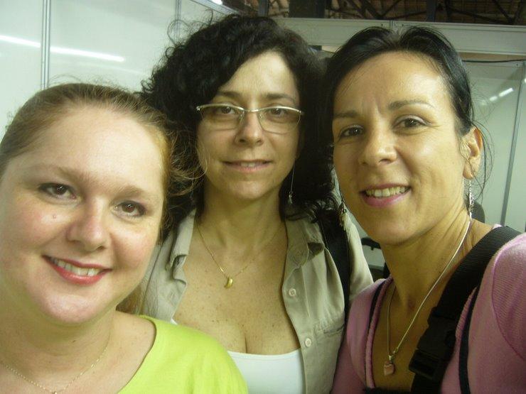 Assessora de musica Cristina Rolim  e Diretora Rosa Maria