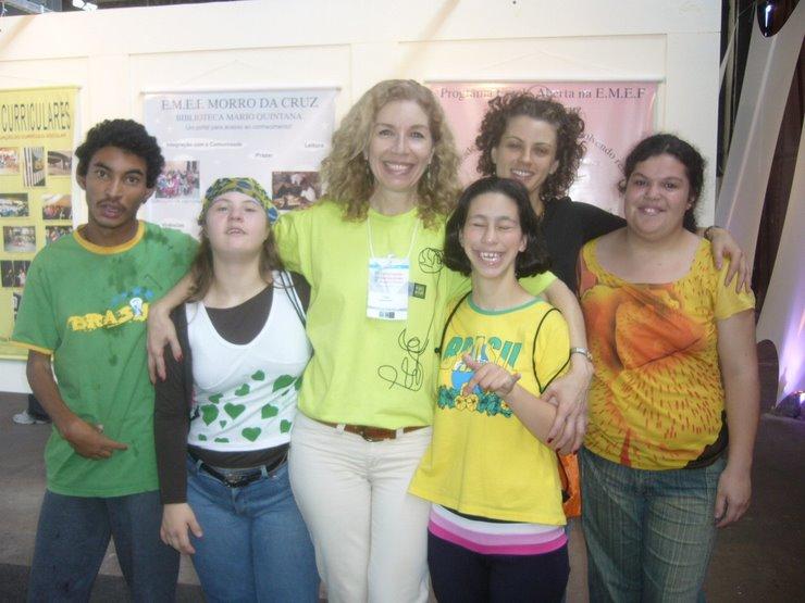 CONVERSAÇÕES INTERNACIONAIS 2006 - PROFESSORA CIDA ALIANO,ASSESSORA DE ARTES