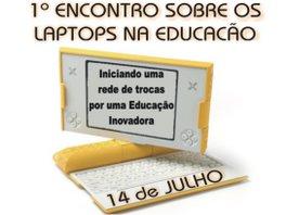 Encontro Sobre Laptops na Educação