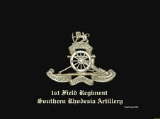 1st Field Regiment Rhodesian Artillery