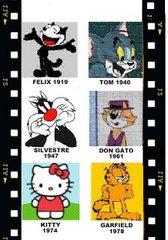 Gatos  famosos en los comics