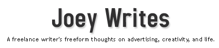 Joey Writes