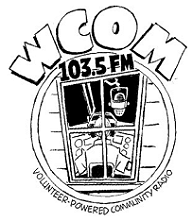 """<a href=""""http://www.communityradio.coop"""">WCOM 103.5</a>"""