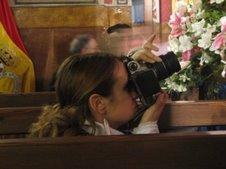 La fotografa fotografiada