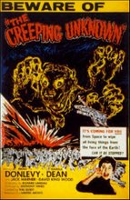 """ THE QUATERMASS EXPERIMENT/ THE CREEPING UNKNOW """