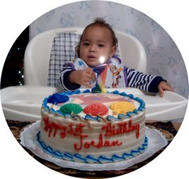 Jordan's 1st Birthday
