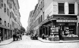 Notre rue en 1911