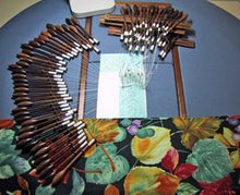 Lacemaking pillow