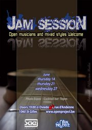 OPEN JAM SESSION PARVIS DE ST GILLES