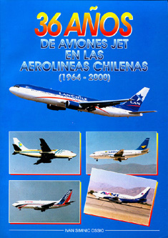 Aviones jet en aerolneas de Chile