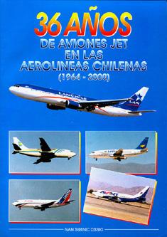 Aviones jet en aerolíneas de Chile