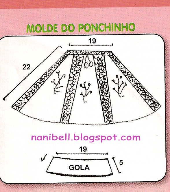 Molde do ponchinho