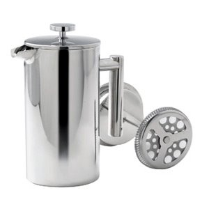 Double Walled St. Steel Coffee Plunger
